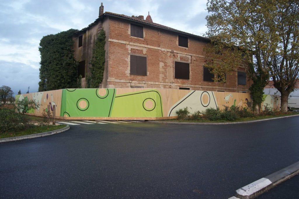 Bâche personnalisée /Toulouse