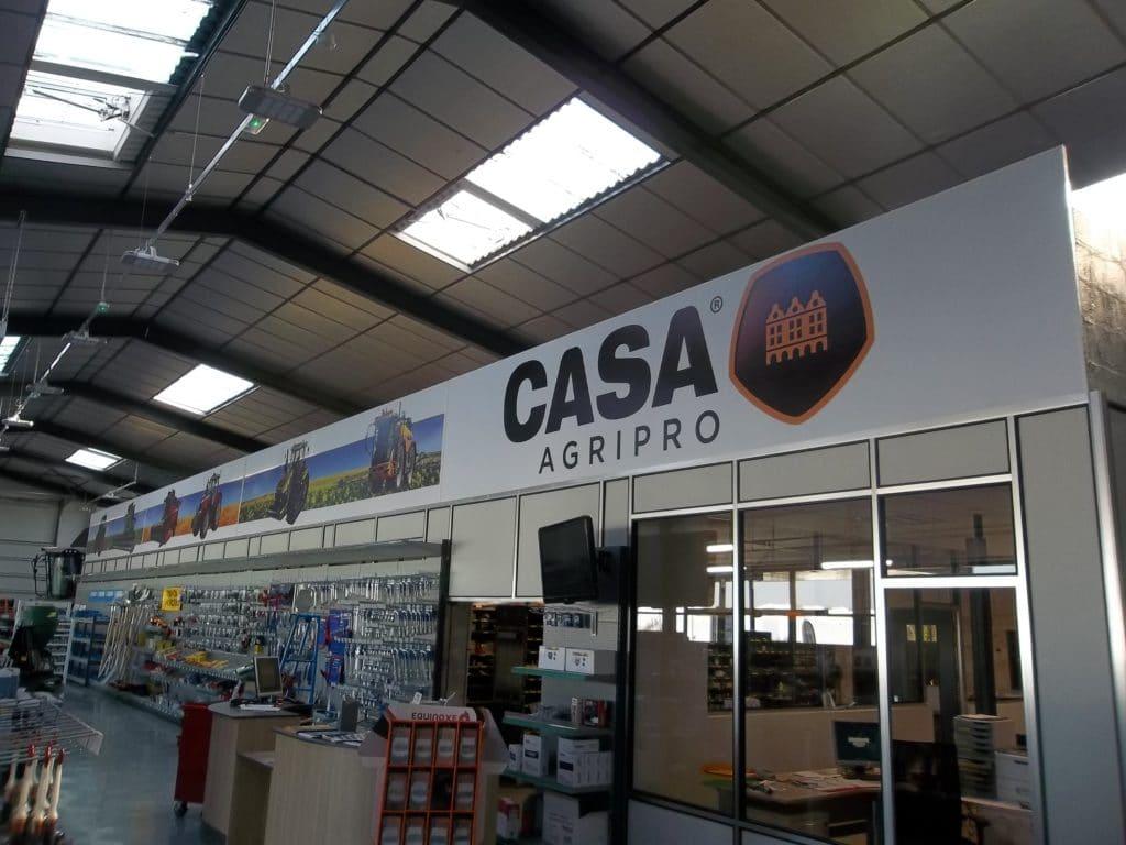 Toile tendue intérieure - CASA / Péronne