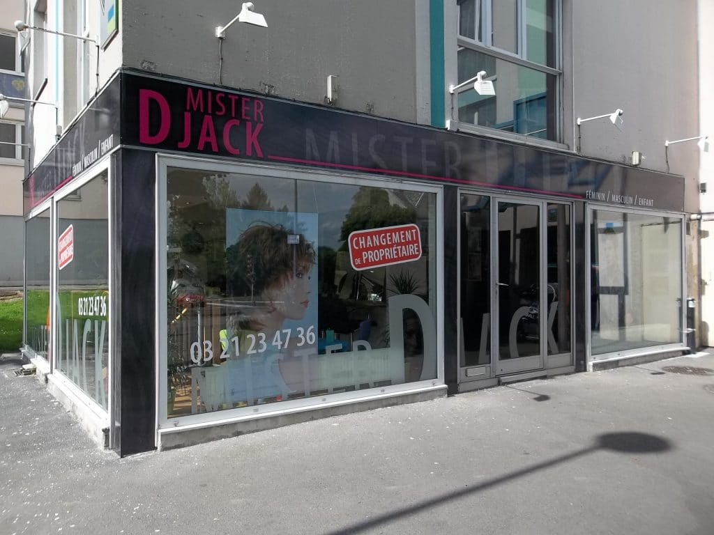 Enseigne en Dibond avec impression numérique en haute qualité - Mister Djack / Arras