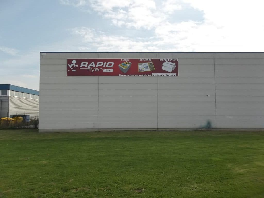 Toile tendue extérieure - Rapid Flyers / Marquette-Lez-Lille