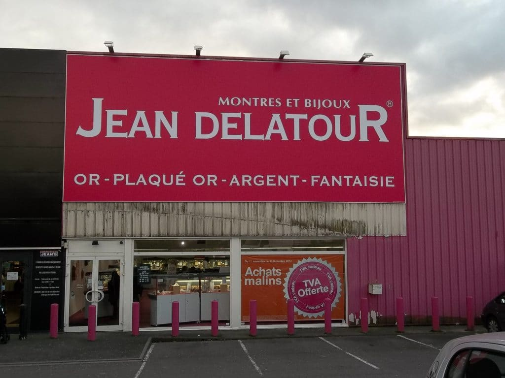 Toile tendue extérieure - Jean Delatour / Arras