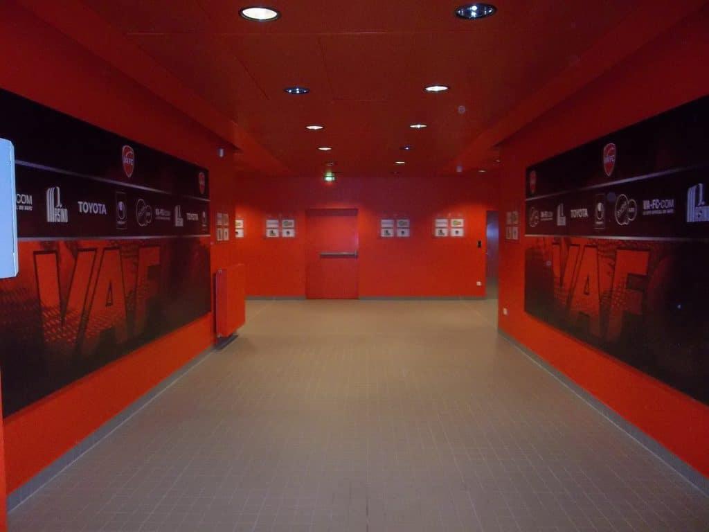 Toile tendue intérieure - Stade du Hainaut / Valenciennes