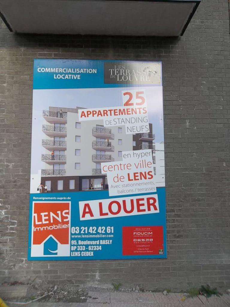 Impression direct sur Akilux - Lens Immobilier / Lens