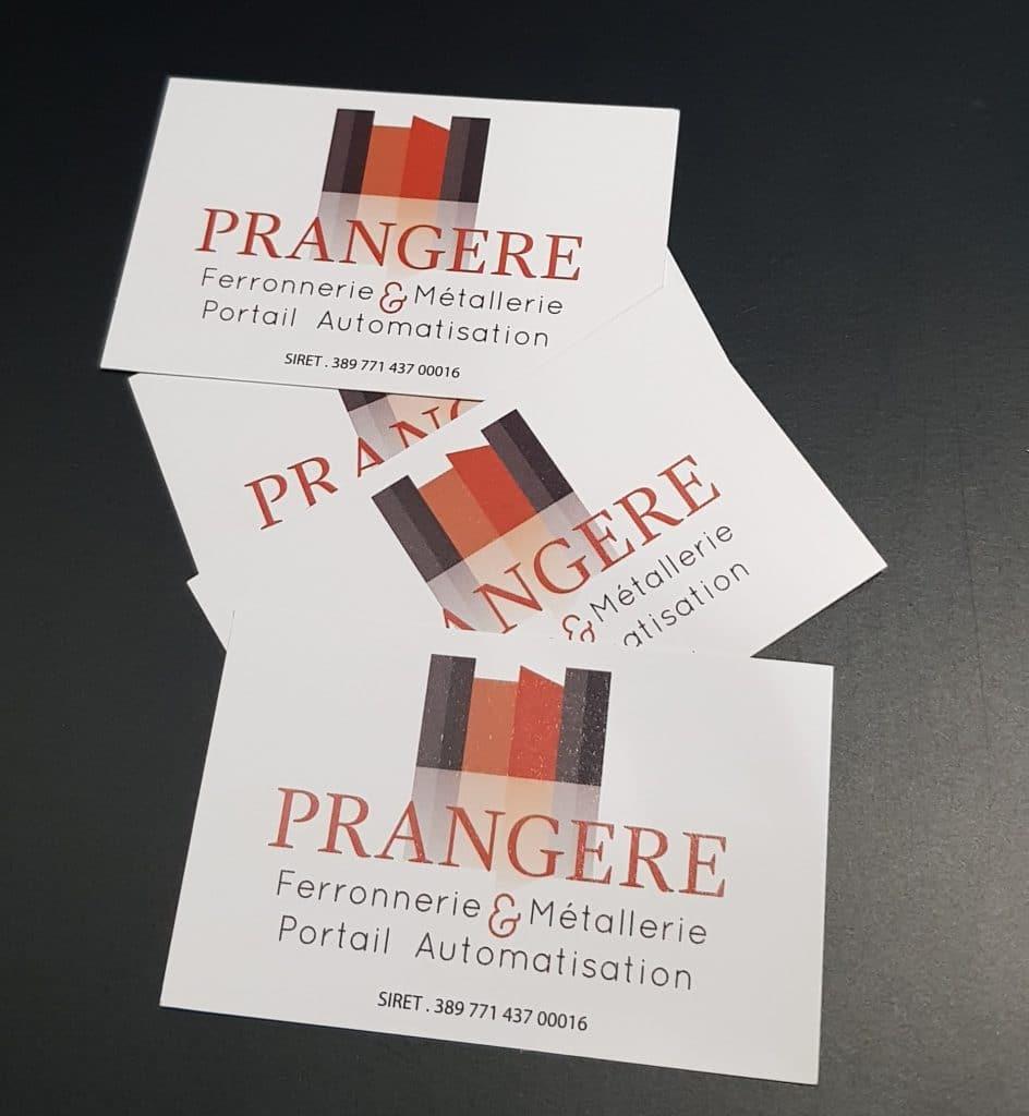 Cartes commerciales - Prangère / Ransart