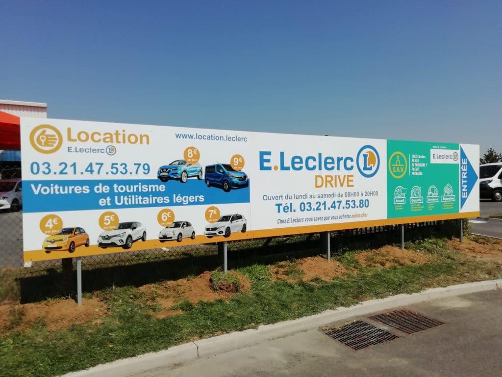 Panneau en Dibond avec impression numérique en partenariat avec l'imprimerie Sensey- Leclerc /Herlin-Le-Sec