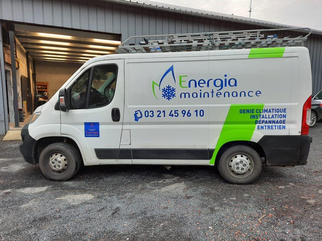 Energia maintenance - Souchez