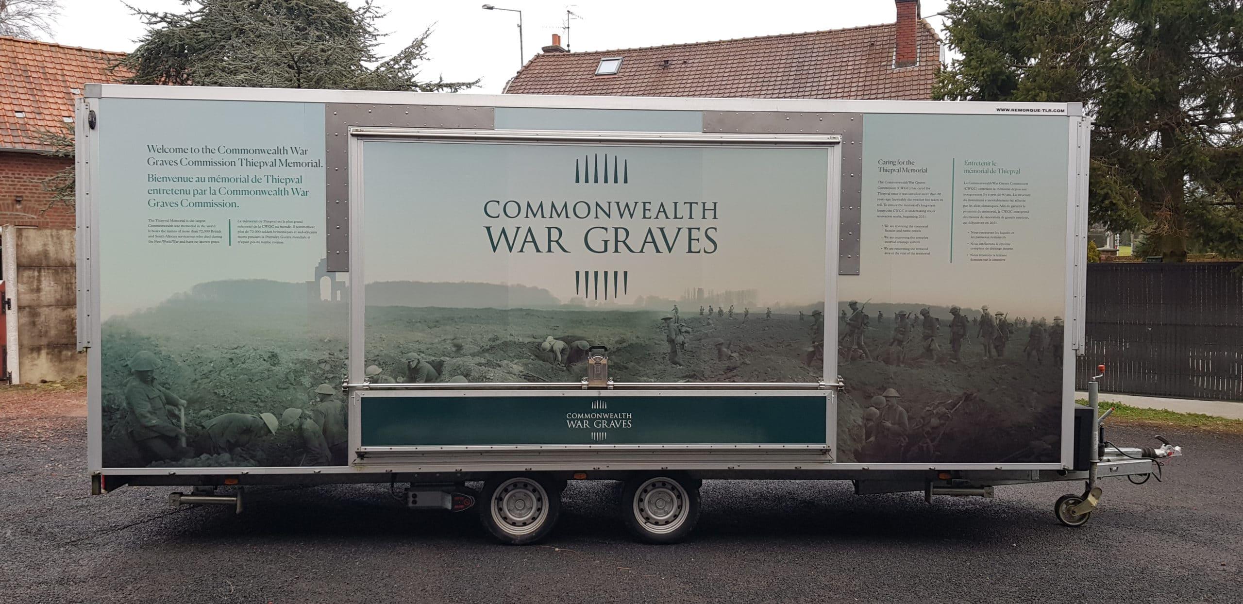 Total covering de la remorque pour le Commonwealth
